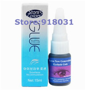 Free Shipping Individual Eyelash Glue for Extensions High Quality  False Eyelash Glue 15ML