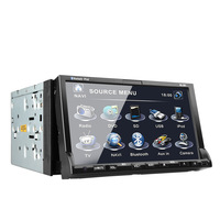 "2013 Newest 7"" Touch Screen In Dash 2 Din Car DVD Player With Stereo car Audio Bluetooth Radio Ipod SD USB"