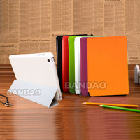 Flip Leather Magnetic Smart Cover Fashion Hard Case stand for New iPad Mini Apple sleep wakeup-Retail box