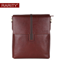 2013 fashion Brand RARITY 100% Genuine Leather men shoulder bag Business Messenger Bag Free Shipping  WST0022-2