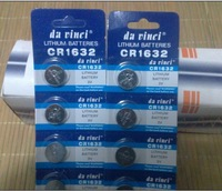 Lithium CR1632 3V coin cell electronic battery button CR1632 battery