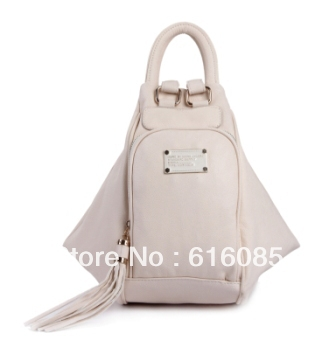 Transformers Slouchy hobo style Backpack Women Bag M3199 White(China (Mainland))