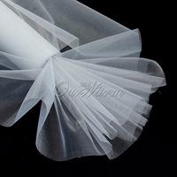 25M x 29CM White Roll Soft Sheer DIY Organza Fabric Wedding Party Chair Sash Bows Swag Decor