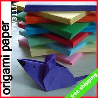 FREE SHIPPING Origami Paper Cranes Children DIY Animal Valentine Festival Promotion Gift Decoration Say Hi 1000pc/lot 3111