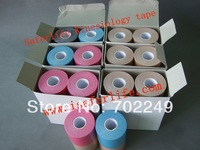 6pcs a lot express SHIPPING physiotherapy tapping kinesio tex elastic therapeutic tape
