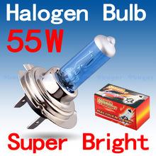 10pcs H7 Halogen Bright Super White Fog lamps bulbs car h7 55W Halogen Bulb Car Head Lamp Light Parking Car Light Source(China (Mainland))