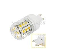 G9 E27 E14 fitting SMD 5050 27 LED 4W Cold/warm White Corn lighting spot lamp 220V~240V/110V free shipping