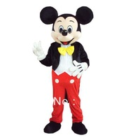Cheap Mickey Mascot Costume  Adult Size Halloween Costumes Fancy Dress Suit Free Shipping