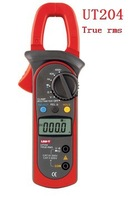 UNI-T UT204 AC/DC True-rms Clamp Meter, Voltage Current  Resistance Frequency, Free shipping