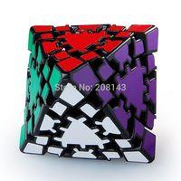 Free Shipping! Lanlan Gear Octahedral Magic Cube Puzzle Cube Black
