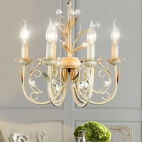 Free Shipping Chandelier With Six Lights in Antique Style (43cm)10088