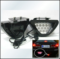 Hot Sale Universal F1 Style 12 led Car Rear LED Brake Triangle Additional Brake Lights BLamp Bulb Flash Light Fitting