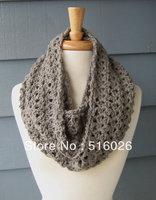 Crochet Lace cowl Wrap Neck Warmer, Scarf, crochet vintage scarf, vintage accessory 2pcs/lot