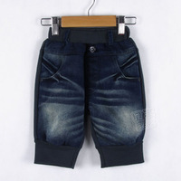 2013 Spring Fashion Warm Pants for Boys Kids Jeans Children Trousers Letters Pattern Overalls Clothes New Arrive kz0219