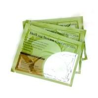 10 pair/pack Crystal Eyelid Patch Collagen Eyes Masks Remove Black Anti-wrinkle Gel Gold Eye Mask (KD-12)