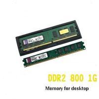 Brand New Sealed 1G DDR2 800 Desktop RAM Memory   Free Shipping