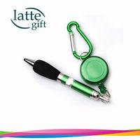 Free shipping for best seller Carabiner Retractable Ballpoint Pen