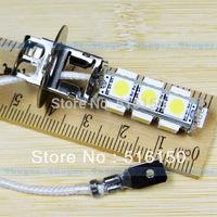 4pcs H3 13 SMD 5050 Pure White Fog Parking Signal 13 LED Car Light Lamp Bulb V4 12V