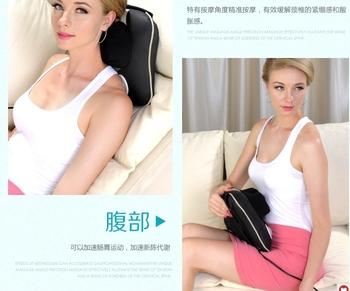 Discount storm+Free shipping for cervical vertebra massage apparatus neck massage pillow massage cushion massage pad full-body