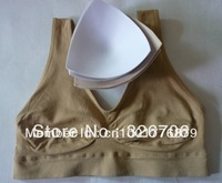 Free Shipping 150pcs (3pc/set) Genie Bra Ahh Bra with Bonus Pad Sport Bra with pads