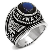 Mission Impossible Ghost Protocol Tom Cruise Titanium Steel Ring