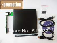 Laptop External USB 2.0 CD DVD ROM Portable Drive Enclosure IDE External Case