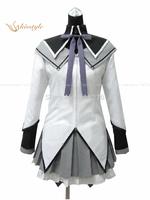 Cheap Custom made Akemi Homura Cosplay Costume from Puella Magi Madoka Magica