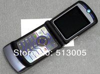 EMS free shipping unlocked original V 3i cell phone support Russian Menu Russian Keyboard