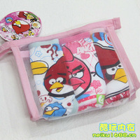 wholesale! 15pcs/lot,  kid's cartoon underwears, baby girls' shorts, kids'  cartoon cotton panties, hot sale free shipping