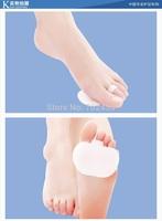 Feet care High quality hallux valgus foot pad Softzone Pure Gel Metatarsal Pad free shipping 2pcs= 1pair