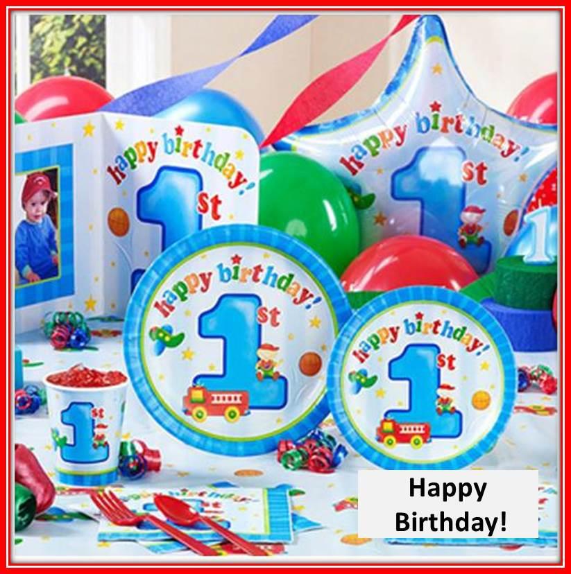 Boy 1st Birthday Logo Baby Boy 1st Birthday Themes