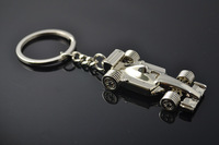 Retailing Min.order is $15 (mix order) Korean jewelry Mini simulation F1 car keychains - Key Chain gift