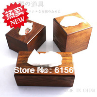 FREE Shipping wooden products long pumping paper box 3 style MZL010
