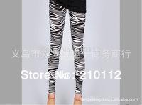 Sexy zebra Pants For Women Fashion Seamless Leggings high quality  H110