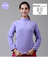 Free Shipping  Windtour outdoor Women autumn and winter thermal breathable antistatic fleece clothing outdoor jacket liner