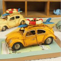 Free Shiping! Vintage Car Metal Car Model Childhood Memory Metal Art & Gift Home Decoration M1005