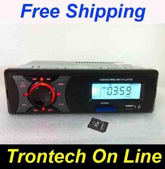 "2.5"" Screen Car radio mp3 play machine usb flash drive machine car audio memory  USB SD MMC MP3 Player 12V 24V"