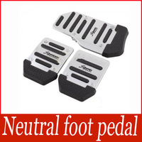 3Pcs Nonslip Car Auto Vehicle Accelerator Brake Foot Pedal Cover Footrests Set 6