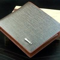 2014 New Brand Fold Men Wallets/Designer Fashion PU Leather Wallets Men/Casual Cheap Men Bags