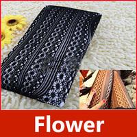 Women Soft Black Plum Flower Net Pattern Jacquard Tights Pantyhose Stockings