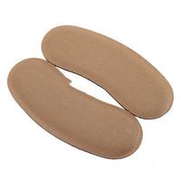 1 Pair Sponge Non-woven Gel Heel Cushion Foot Care Shoe Pads