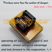 100% NEW CNV-SSOP34-DIP Adapter TSSOP34/SSOP34- DIP34 IC Test Socket / Programmer Adapter (OTS-34-0.65-01)
