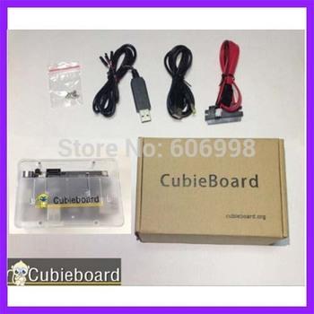 5PCS/LOT Mini PC Cubieboard 1GB ARM Development Board Cortex-A8 Kit Free Shipping Wholesale