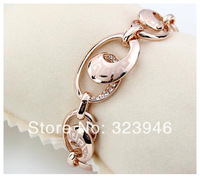 Free shipping new style high quality 18K gold Plated Vintage Fashion Classic bracelet/bangles F&H Viennois Jewelry wholesale