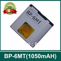 Free shipping !BP-6MT mobile battery for NKA 6720C E51 N81 N82 N828G, 1050mAh,2 pcs