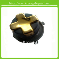 Chrome Gold  transforming D-pad for  Xbox 360 Wireless Controller