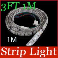 3FT 1M 12V Flexible RGB 60 LED Strip Light 5050 SMD Car Auto Decoration Light