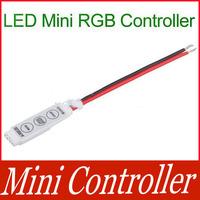 New 12V Mini Controller For RGB  LED Lights Strip