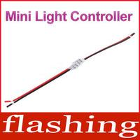 New Mini 3 Keys Light Controller for Single Color Led Strip