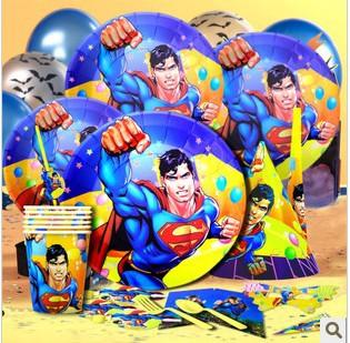 Superman Party Birthday Party Ideas